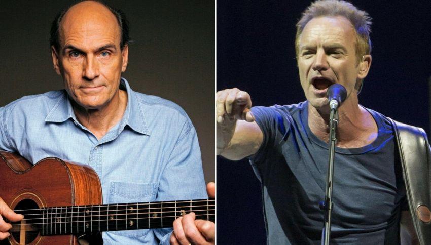 Sanremo 2018: Sting e James Taylor fra gli ospiti
