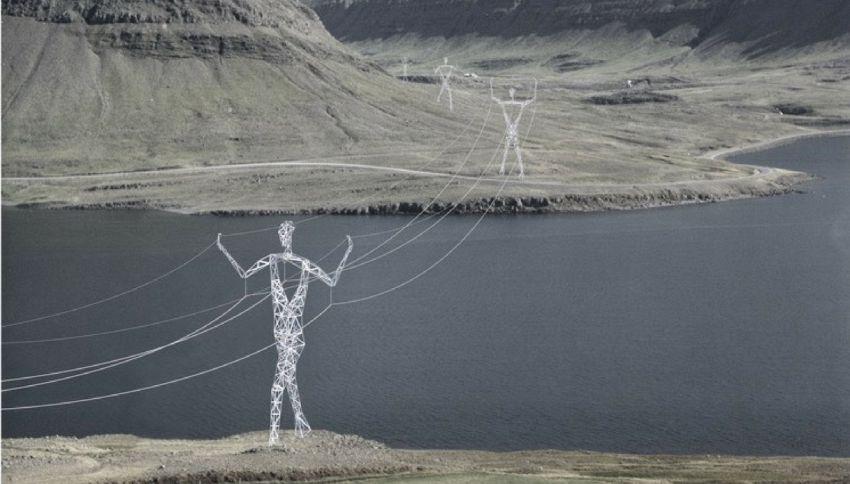 I giganti della luce in mezzo al ghiaccio dell'Islanda