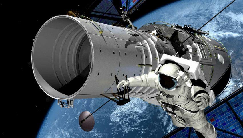 Perché gli astronauti fluttuano nello spazio