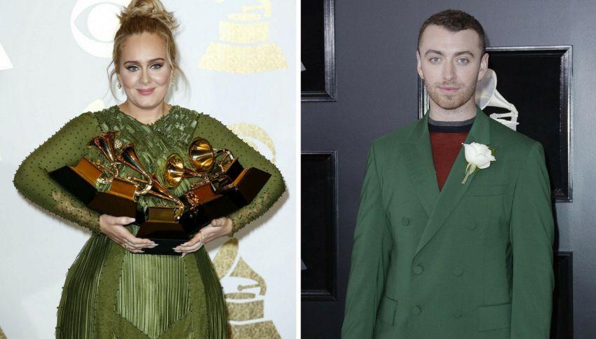 La teoria secondo cui Adele e Sam Smith sono la stessa persona