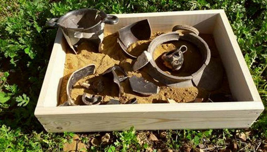 Ad Agrigento è stato scoperto un biberon di 2000 anni fa