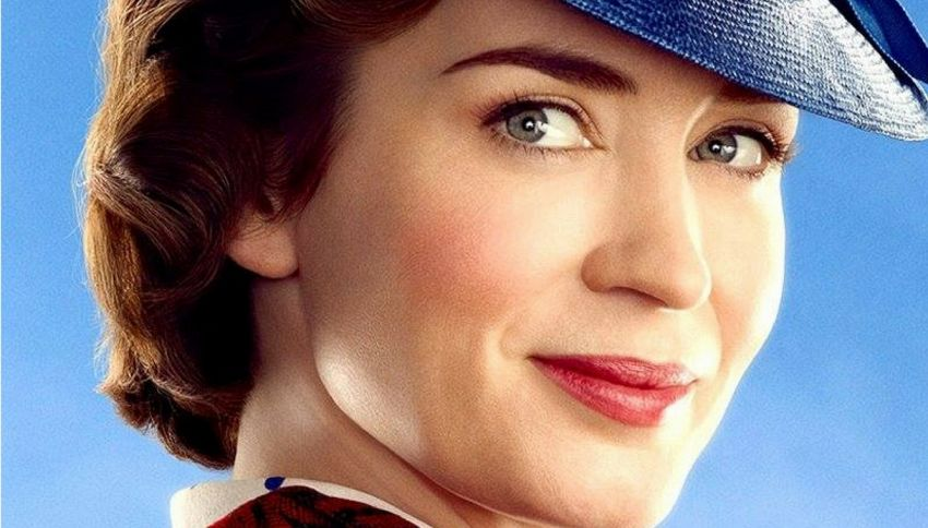 Mary Poppins torna al cinema con Emily Blunt