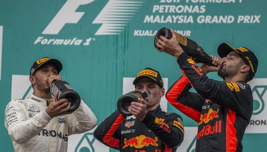 Quanto costa lo champagne della Formula 1?