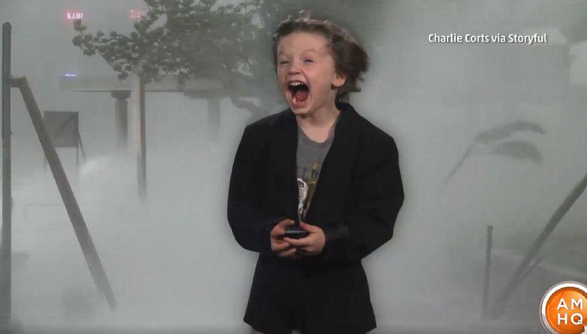 Il bimbo che fa le previsioni meteo più divertenti di sempre