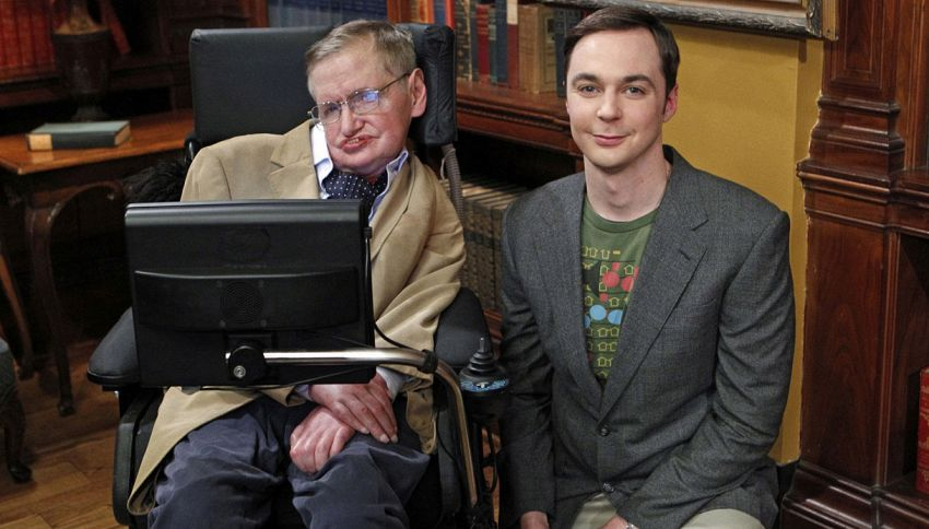 """The Big Bang Theory"", una puntata dedicata a Stephen Hawking"