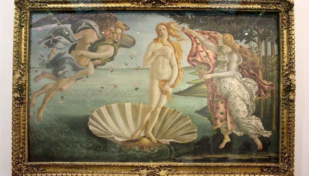 Nella Venere di Botticelli c'è un messaggio nascosto