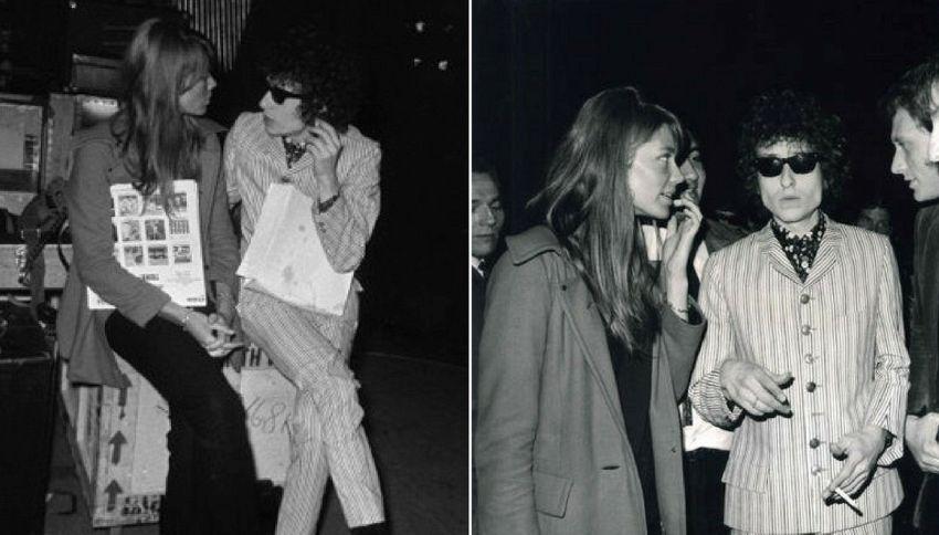 Ecco le lettere d'amore segrete tra Bob Dylan e Francoise Hardy