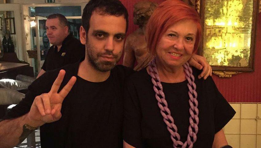 La foto del giorno: Colapesce e Vanna Marchi insieme su Instagram