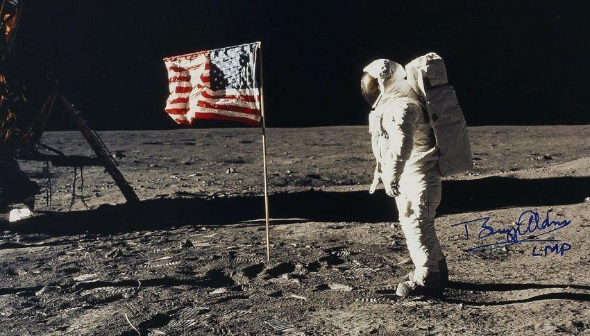 La macchina della verità conferma che Buzz Aldrin ha visto un UFO