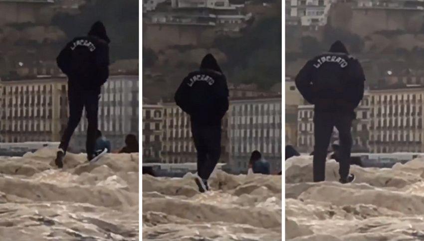 Liberato, in esclusiva le immagini delle riprese del nuovo video