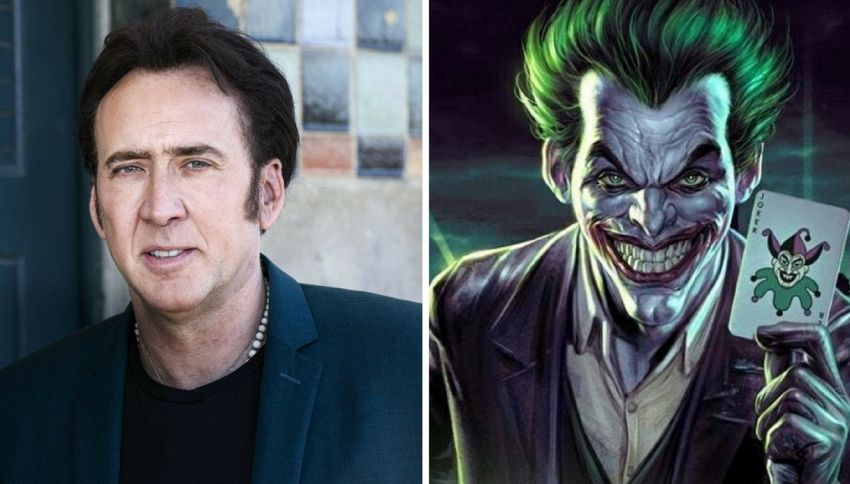Nicolas Cage diventa villain e si candida come Joker