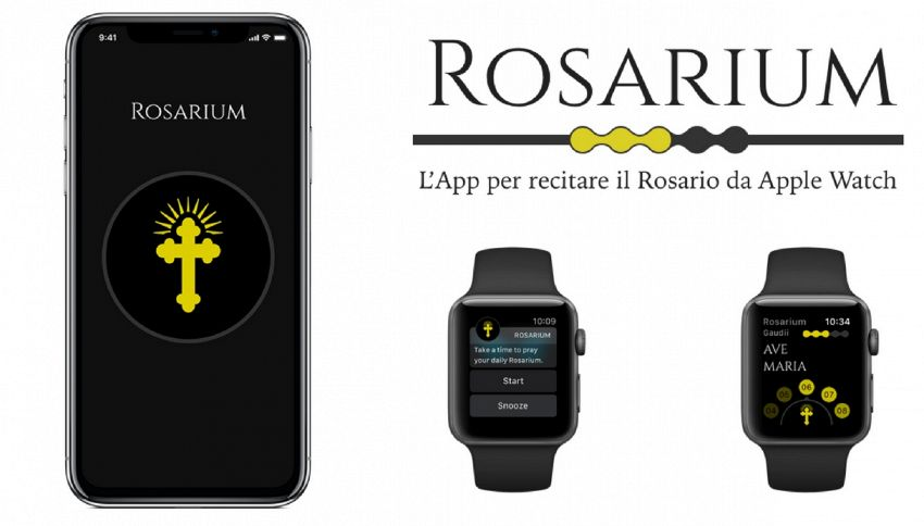 Arriva Rosarium, l'app per recitare il Rosario con l'iPhone