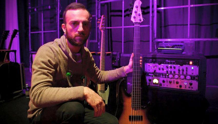 Chi è Andrea Torresani, il nuovo bassista di Vasco Rossi