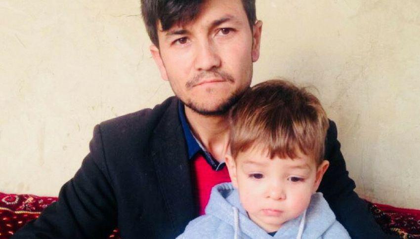 La strana storia del bambino afghano che si chiama Donald Trump