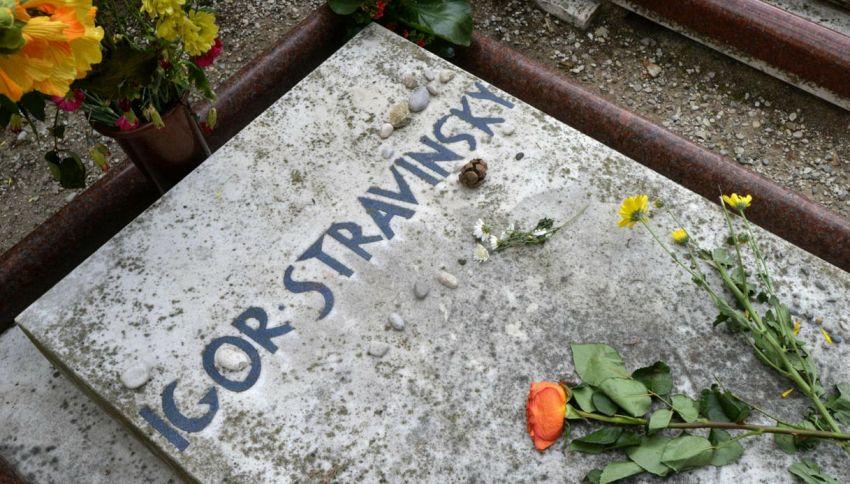 Vuoi la tomba accanto a Stravinsky? Costa 350 mila euro