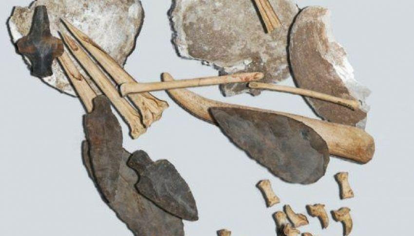 Scoperto il kit per tatuaggi più antico del mondo