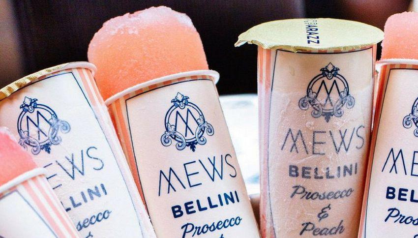 Pronti a provare i ghiaccioli alcolici al gusto Prosecco?