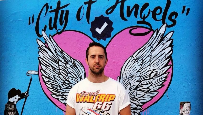 Ecco il murales dove solo i top influencer possono farsi i selfie
