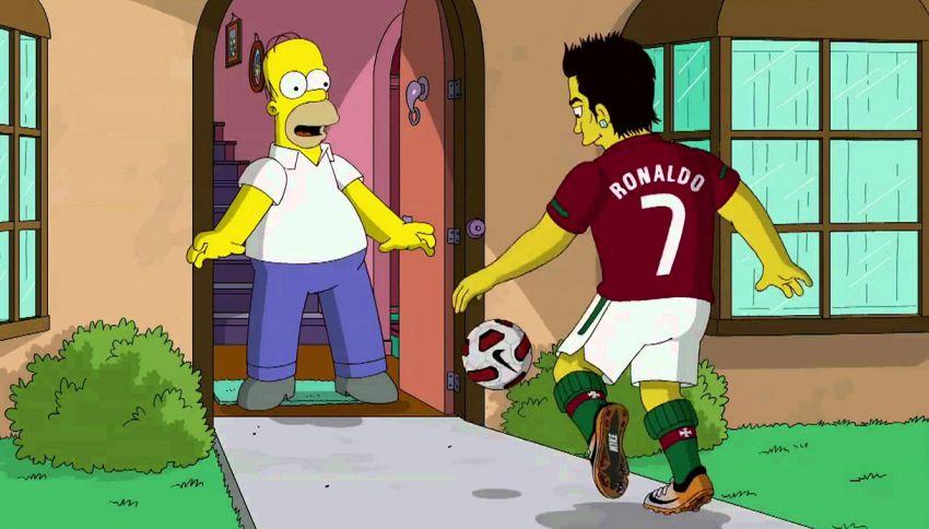 I Simpson prevedono Portogallo e Messico in finale ai Mondiali