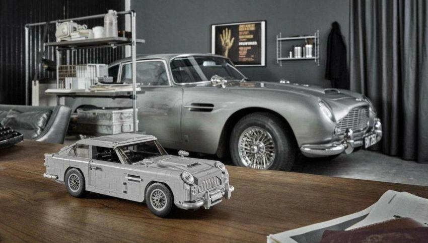 Lego in versione 007: lancia l'Aston Martin DB5 di James Bond