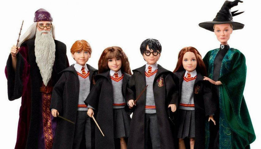 Harry Potter festeggia i 20 anni della saga e diventa una Barbie