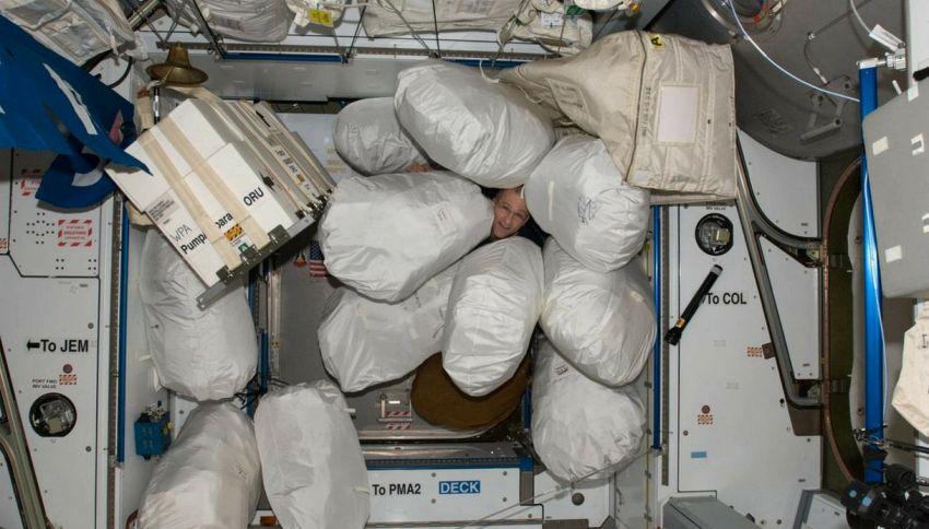 È ora di parlare dei problemi d'immondizia sulle astronavi