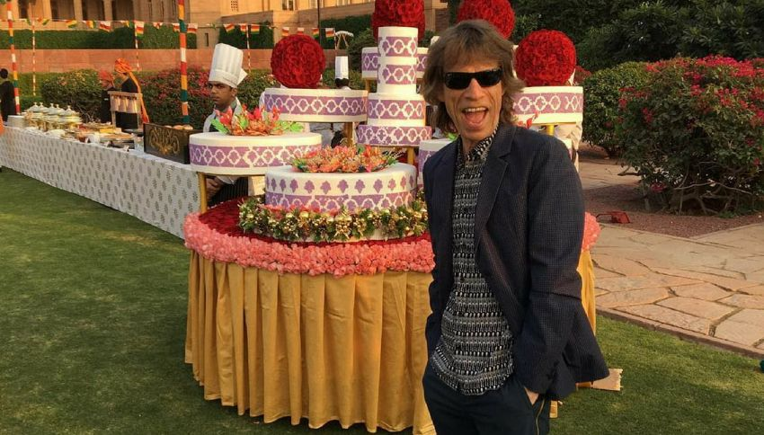 Le 5 follie più assurde fatte da Mick Jagger