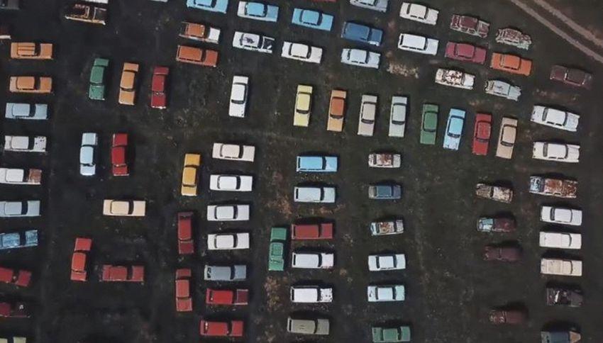 Il cimitero delle auto sovietiche: provate a cercarlo