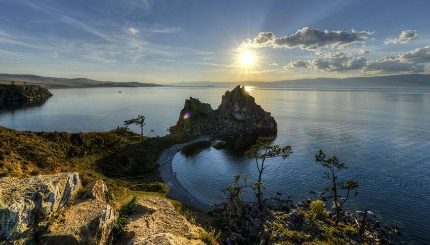 Il fascino dell'isola segreta al centro del Lago Bajkal