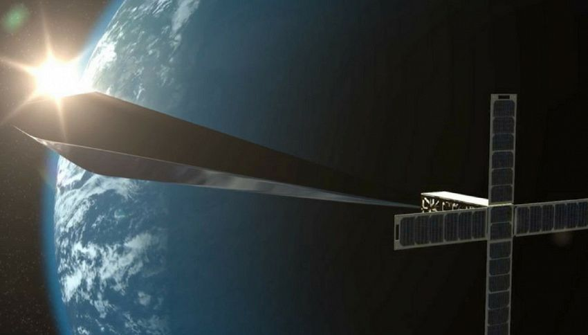 Una scultura spaziale brillerà nei cieli