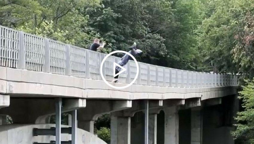 Non guardate questo video (se soffrite di vertigini!)