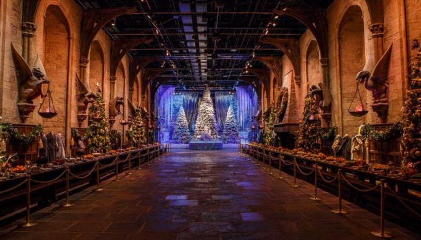 Ultime da Hogwarts: puoi fare la cena di Natale con Harry Potter
