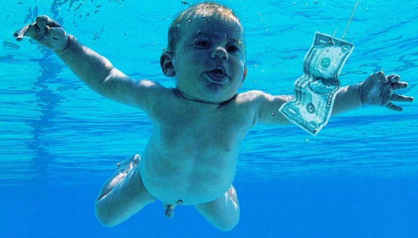 """Quanto venne pagato il bambino della copertina di """"Nevermind"""""""