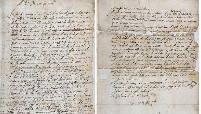 Scoperta la lettera che cambiò la vita a Galileo