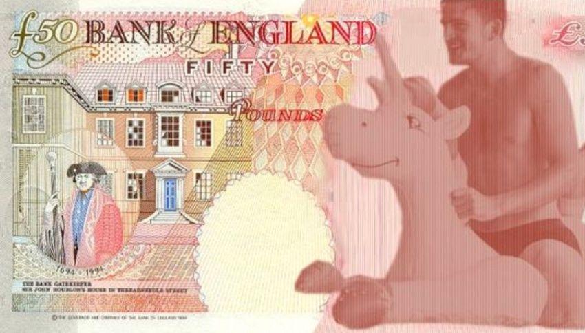Gli inglesi vogliono un calciatore e un unicorno sulle banconote