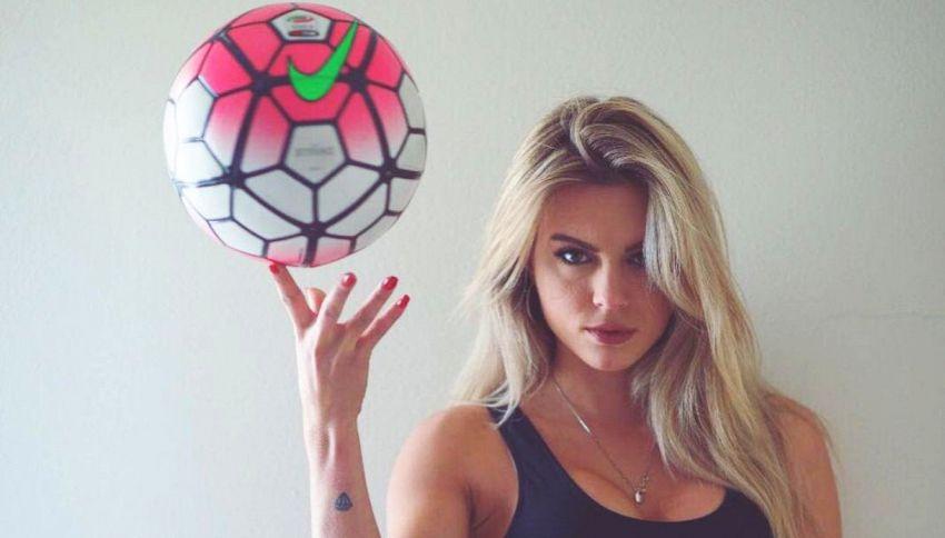 """Chi è Ludovica Pagani, da Sportitalia a """"Quelli che il calcio"""""""