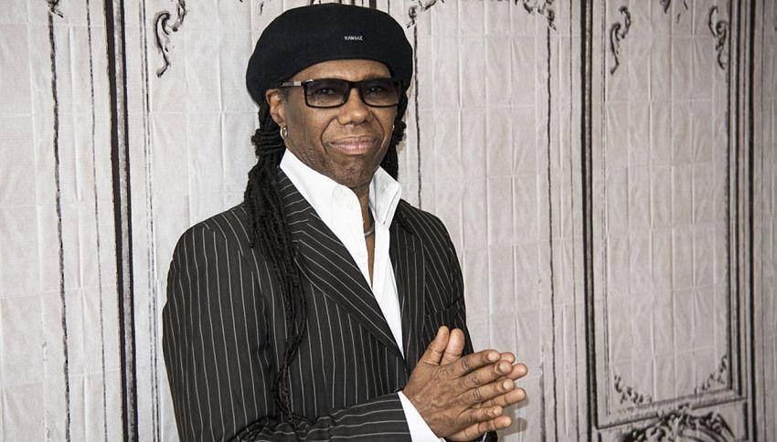 Mezz'ora a cuore aperto con Nile Rodgers