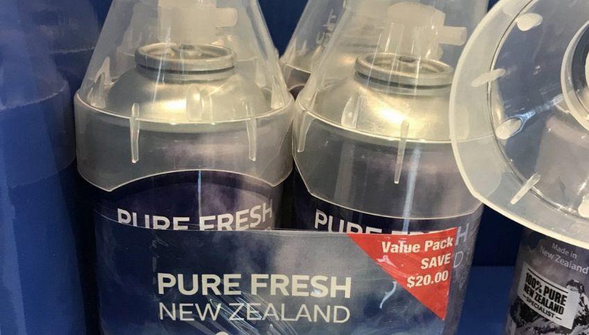 In Nuova Zelanda vendono l'aria, altro che l'acqua della Ferragni