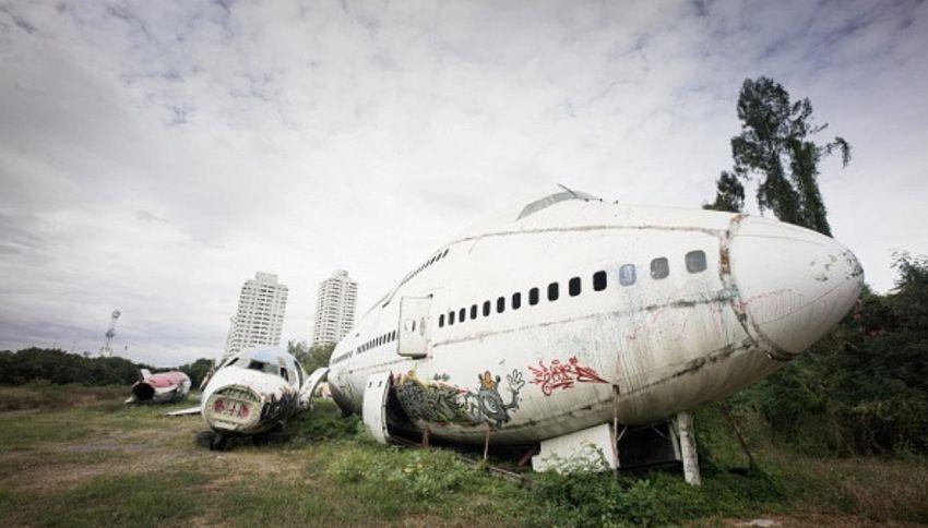Esiste un cimitero degli aeroplani e si trova a Bangkok