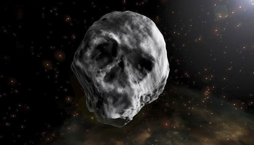 Un asteroide a forma di teschio sfiorerà la Terra ad Halloween
