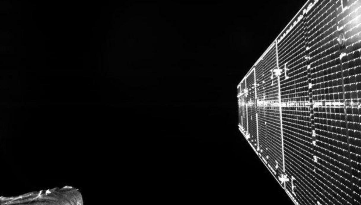 Il selfie dallo spazio di BepiColombo