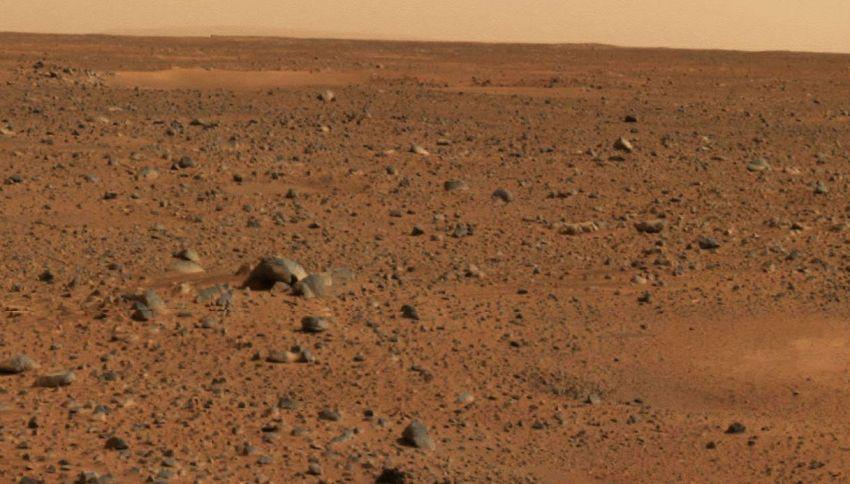 Quanto costa un barattolo di terra di Marte
