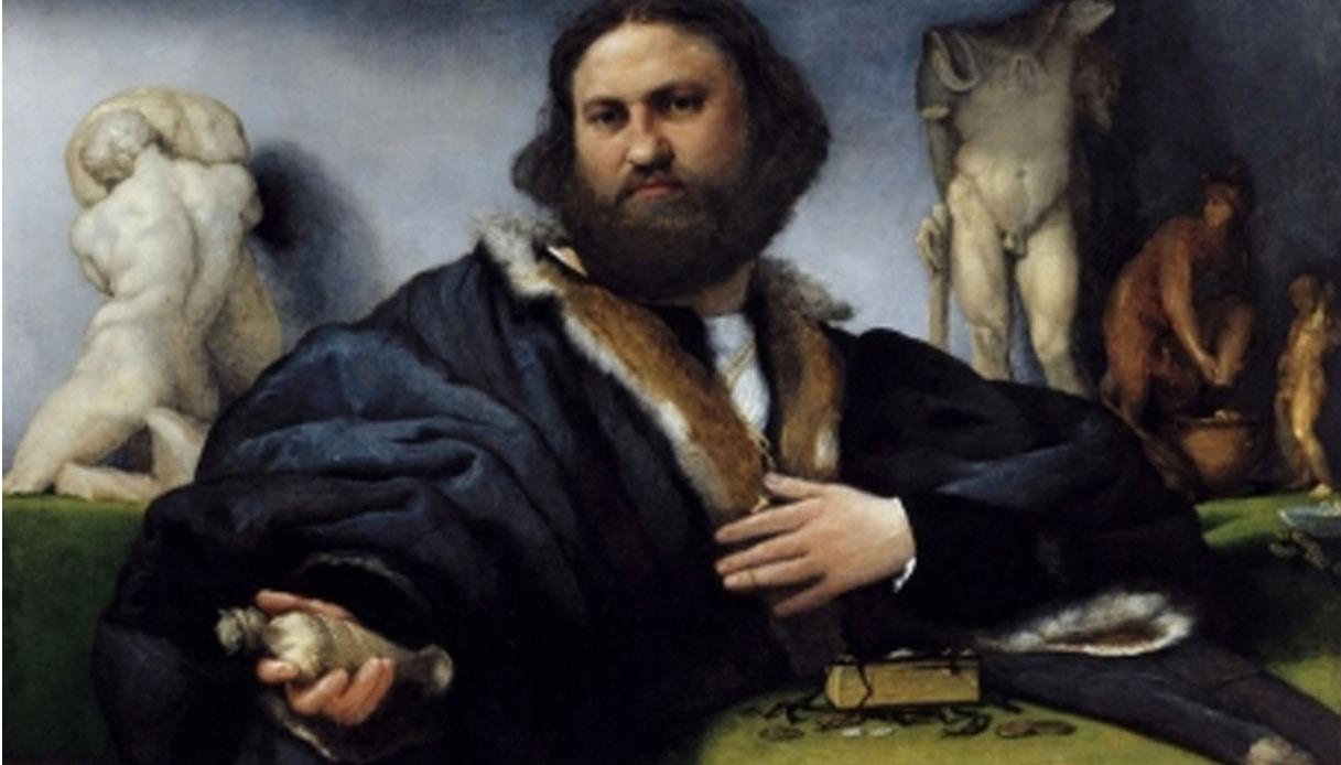 In questo quadro del XVI secolo c'è lo scherzo di un ragazzino