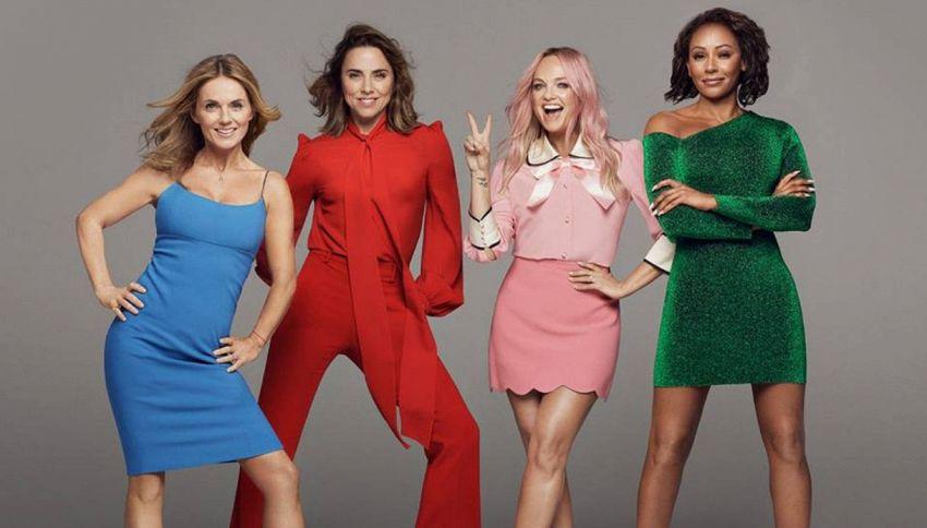 L'hype per le Spice Girls ha fatto dimenticare Salvini e Isoardi