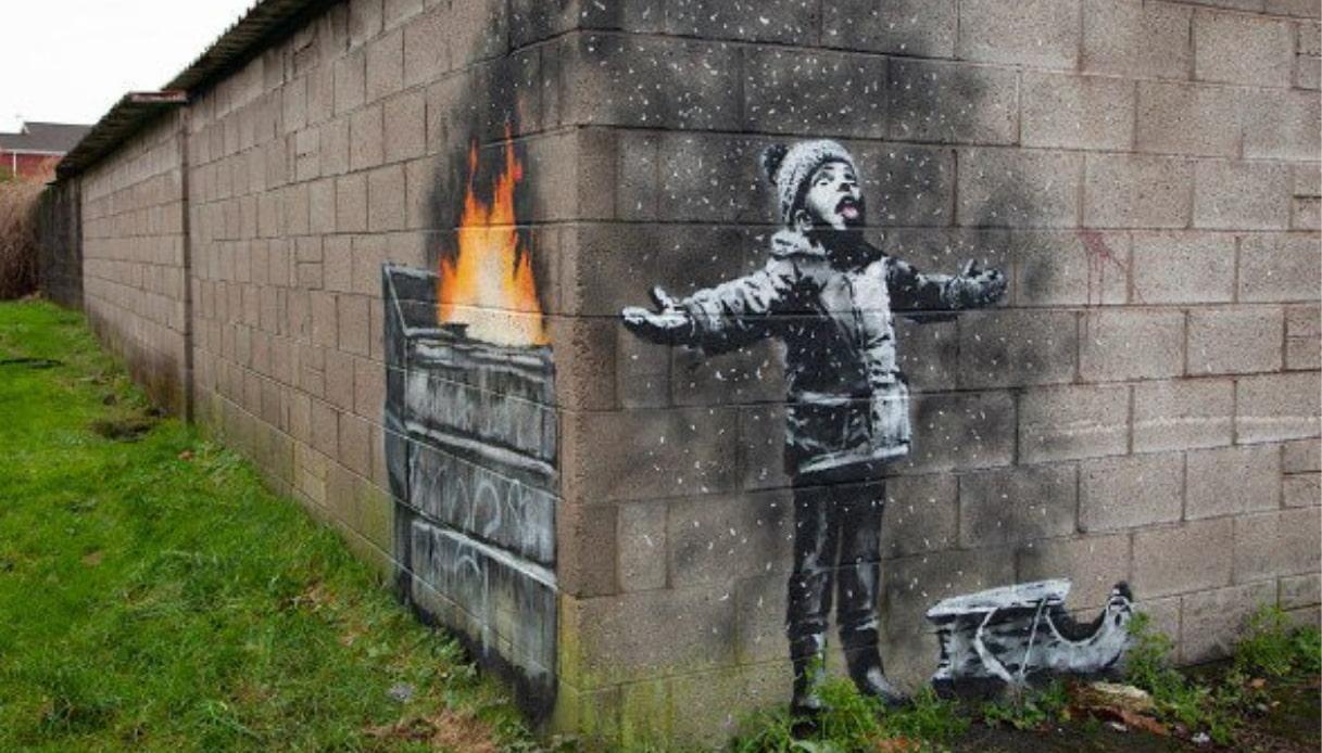 Qual è il significato nascosto del murales di Natale di Banksy
