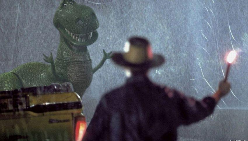 Che ci fa un Tirannosauro a Milano?