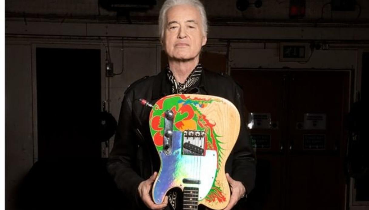 La storia di Dragon, mitica chitarra di Jimmy Page | superEva