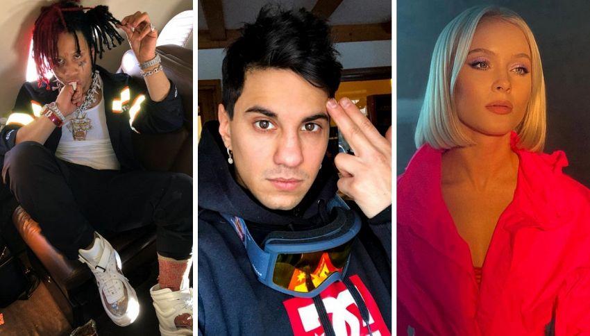 """Gli artisti che hanno collaborato con Fedez a """"Paranoia Airlines"""""""