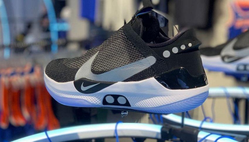Le sneakers autoallaccianti di Marty McFly diventano realtà