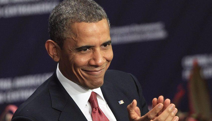 Ebbene sì, Barack Obama sta scalando la classifica Billboard